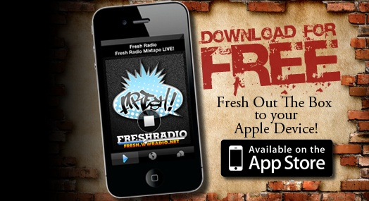 #FreshRadio App available now in the App Store for iPhone!!!