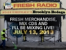 #FreshRadio Lineup Tuesday June 18, 2013
