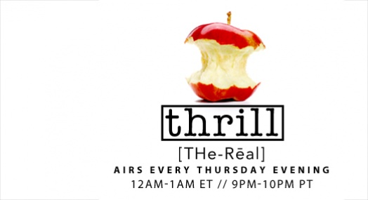 #Thrill with @Cymandye Thur Midnight ET