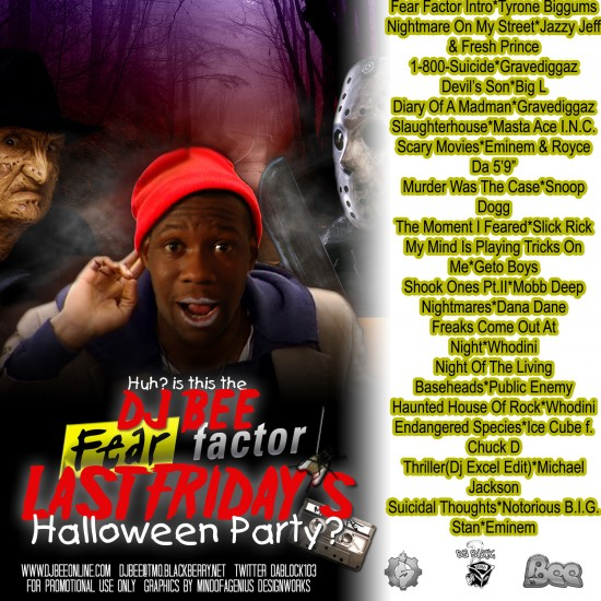Fear Factor Halloween Mix Cd