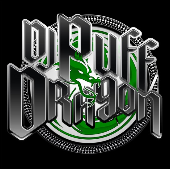 Dj Puff Dragon Logo