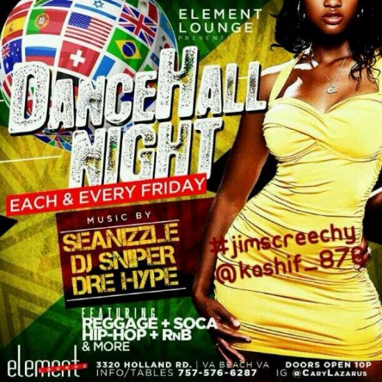 Element Dancehall Nights