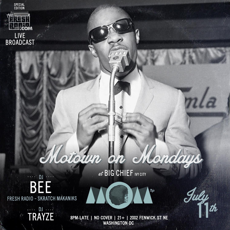 DJ BEE MOM DC JULY 11 2016 TRAYZE